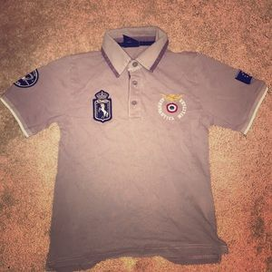 Young boys polo